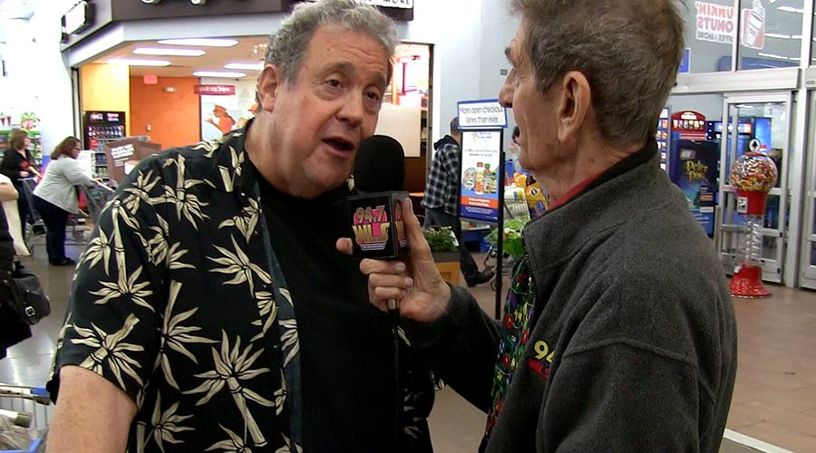 Ronnie Rice interviewed by Dick Biondi at Toys for Tots