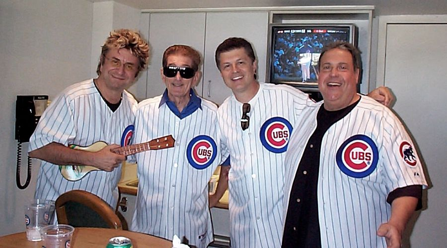 Jim Peterik, Dick Biondi, Carl Giammarese and Ronnie Rice